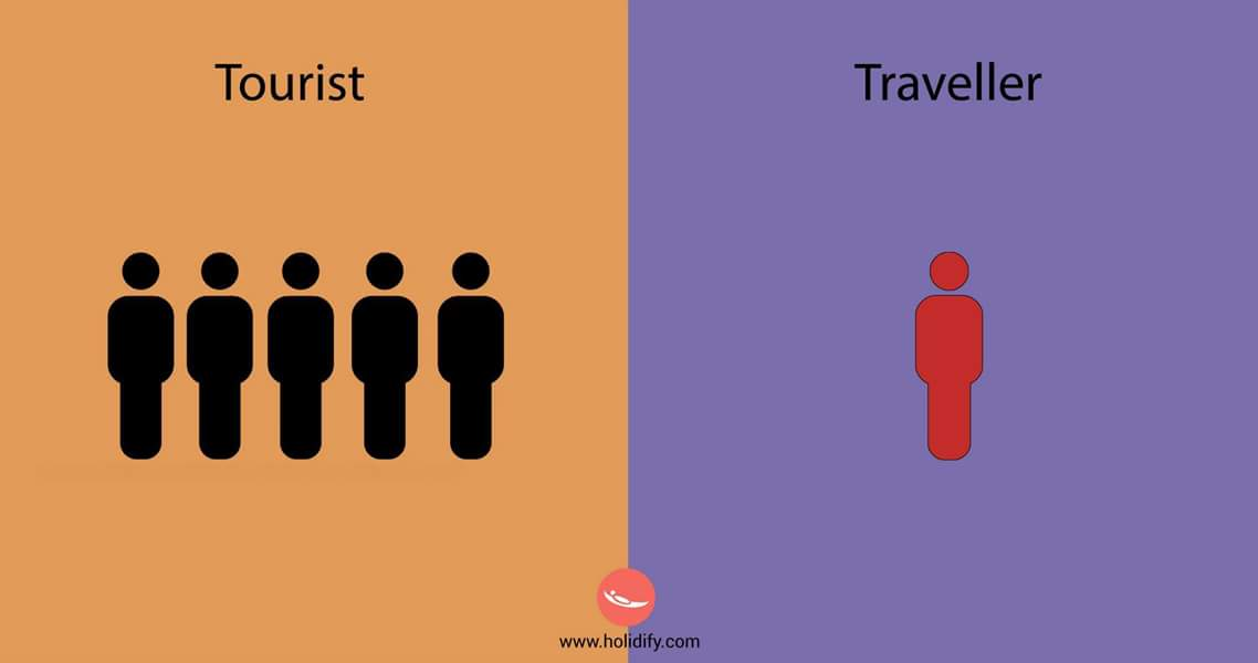 Tourist or Traveler? - which one are you